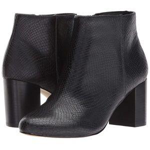 Bella Vita Wide fit snakeskin ankle boot